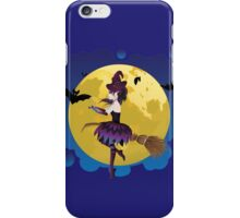 Witch and Full Moon 4 iPhone Case/Skin