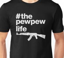 The Pew Pew Life, 2nd Amendment. Unisex T-Shirt