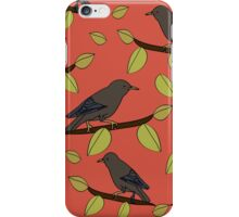 Starlings in Spring iPhone Case/Skin
