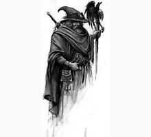 wizard with black bird Unisex T-Shirt