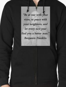 Franklin - War and Peace T-Shirt