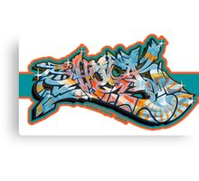 Graffiti SHOCK (Org. Color) Canvas Print