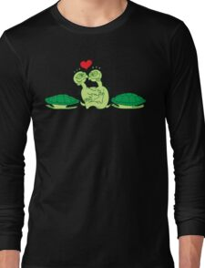 Naked Turtles Making Love Long Sleeve T-Shirt