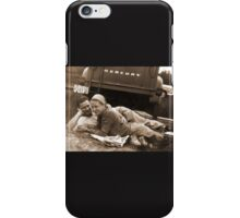 Nova Scotian's having a picnic in 1957 iPhone Case/Skin
