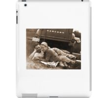 Nova Scotian's having a picnic in 1957 iPad Case/Skin