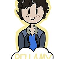The 100 - Bellamy Blake by Itsemily