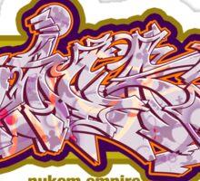 Graffiti SICK Sticker