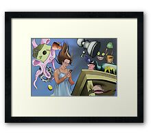 All A Matter of Time Framed Print
