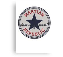 martian congressional republic Canvas Print