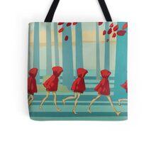 5 Lil Reds I Tote Bag