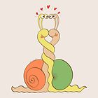Slimy Snails in Love by Zoo-co