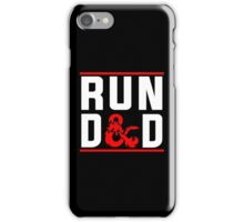 Run D & D iPhone Case/Skin