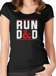 Run D & D Women's Fitted Scoop T-Shirt
