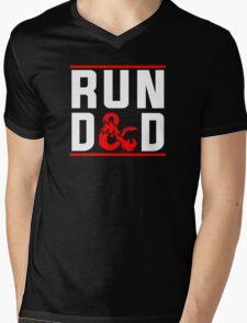 Run D & D Mens V-Neck T-Shirt