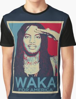Waka Flocka For President Graphic T-Shirt