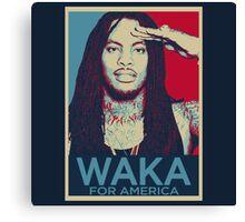 Waka Flocka For President Canvas Print