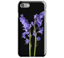 Bluebells, From the very Woods I Created! iPhone Case/Skin