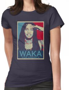 Waka Flocka For President Womens Fitted T-Shirt