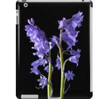Bluebells, From the very Woods I Created! iPad Case/Skin