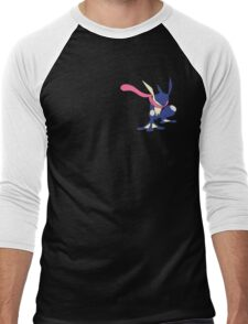 Pokemon Greninja Design Men's Baseball ¾ T-Shirt