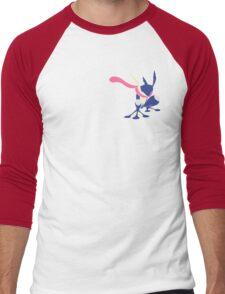 Pokemon Greninja Design Men's Baseball ¾ T-Shirt