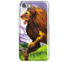 The Great Lion iPhone Case/Skin