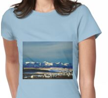 Snowy Rockies Womens Fitted T-Shirt
