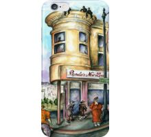 San Francisco 97 - Watercolor Painting iPhone Case/Skin