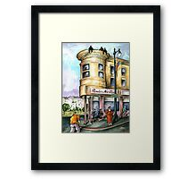 San Francisco 97 - Watercolor Painting Framed Print