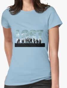 lost cast Womens Fitted T-Shirt