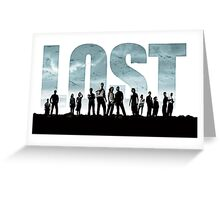 lost cast Greeting Card
