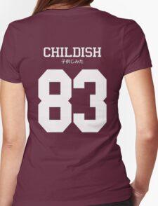 Childish Gambino 83 Womens Fitted T-Shirt