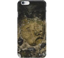 Face in the wall  iPhone Case/Skin