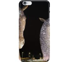 The Kelpies at Night iPhone Case/Skin