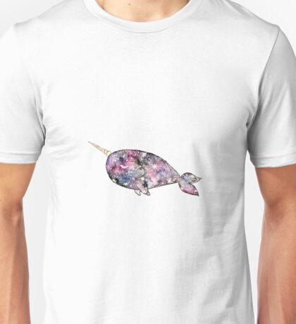 Galaxy Narwhal Unisex T-Shirt