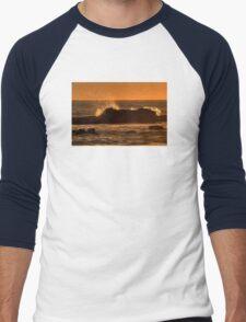 Wave Splash At Sunset T-Shirt