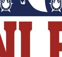 National League of Evil Sticker