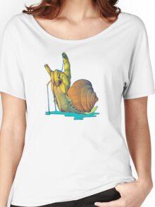 Snail Gesture Women's Relaxed Fit T-Shirt