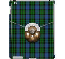 Clan MacKay Tartan And Sporran iPad Case/Skin