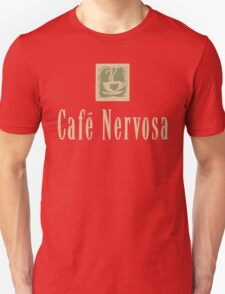 Cafe Nervosa sign – Frasier, Seattle T-Shirt