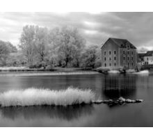 France, A Weir on the Mayenne River (version 1) Sticker