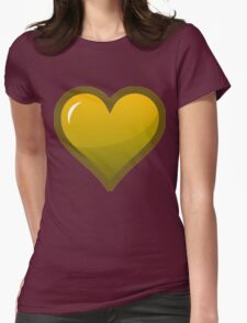 Yellow Loveheart T-Shirt
