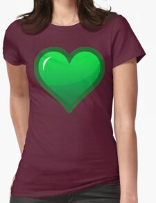Green Loveheart T-Shirt
