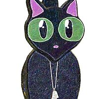Sparkly Jelly Cat by Havocgirl