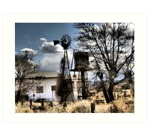 Budville, New Mexico ~ Old Route 66 Art Print