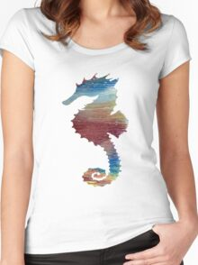 Seahorse Women's Fitted Scoop T-Shirt