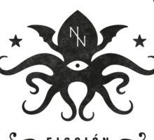 Noviembre Nocturno - Logo design Sticker