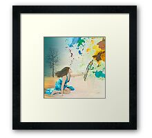 Forsaking the Real Framed Print