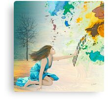 Forsaking the Real Canvas Print