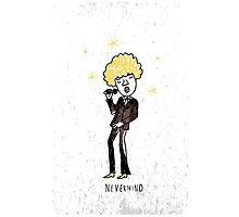 Seventies style singer Photographic Print